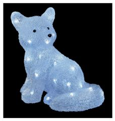 PREMIER LV192064  32Cm Acrylic Fox With 32 White Leds